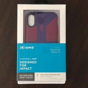 (*) speck Phone Case for iPhone Xs / iPhone X